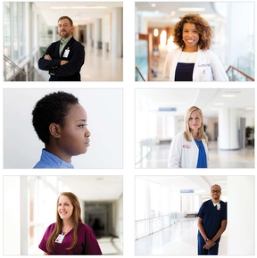 UVA Health Brand photographic style-diversity standards